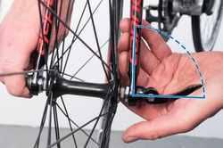 Как собрать заднее колесо велосипеда