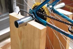 Как сделать велотренажер из велосипеда своими руками