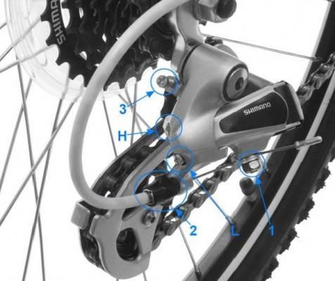 Как настроить переключение передач на велосипеде
