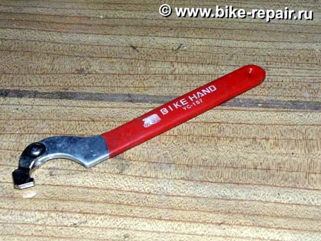 ключ для каретки