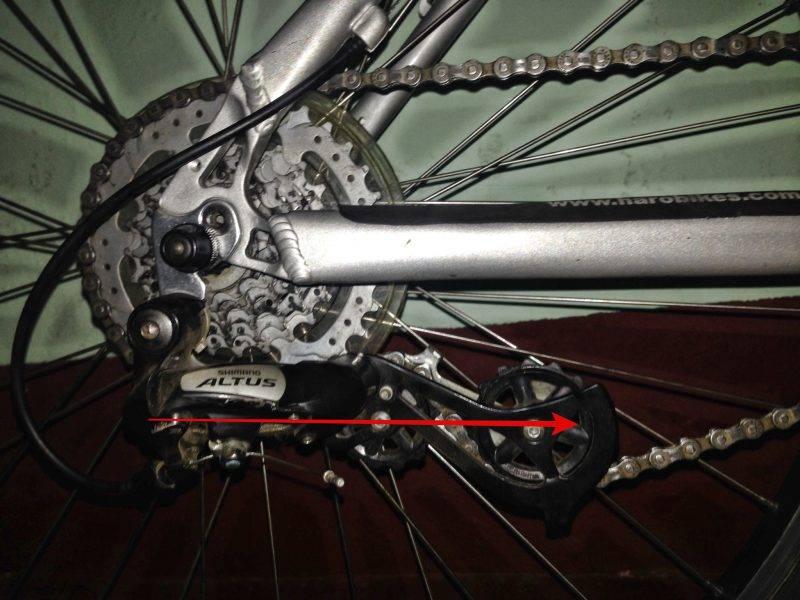 Какая должна быть длина цепи велосипеда