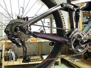 Велосипед с цепью