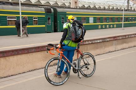 Как провести велосипед в поезде