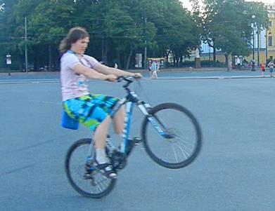 Трюки на велосипеде для начинающих