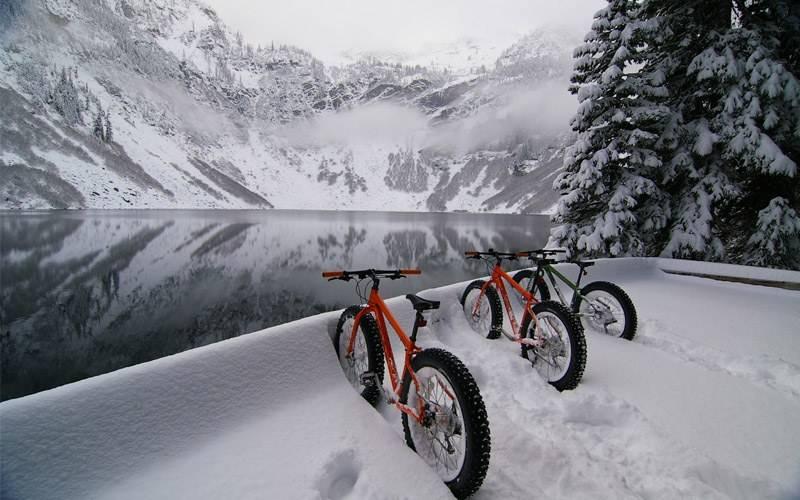 Сколько атмосфер в велосипедном колесе