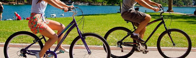 Сколько тратится калорий при езде на велосипеде