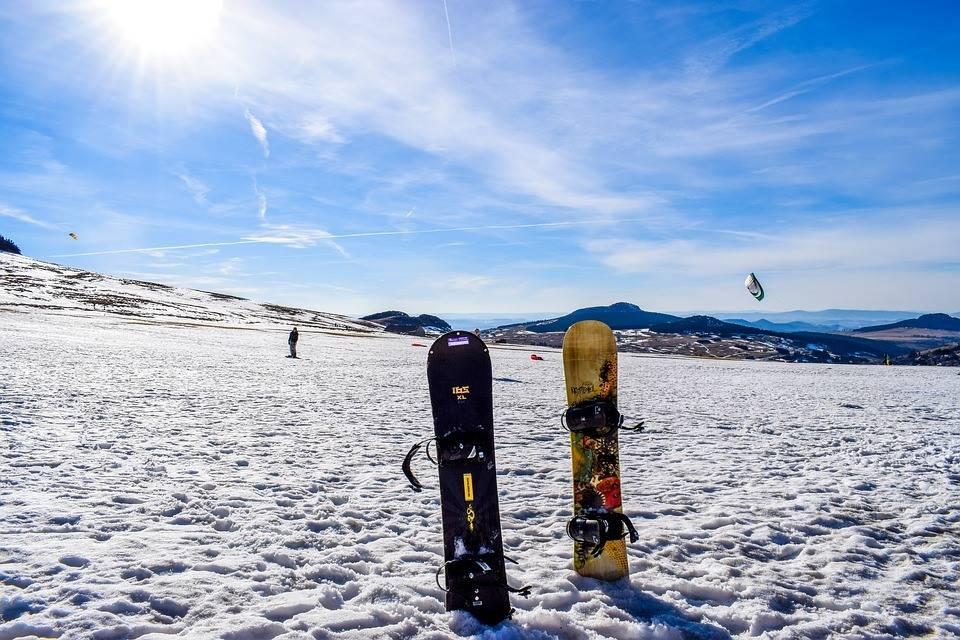 Уроки катания на сноуборде