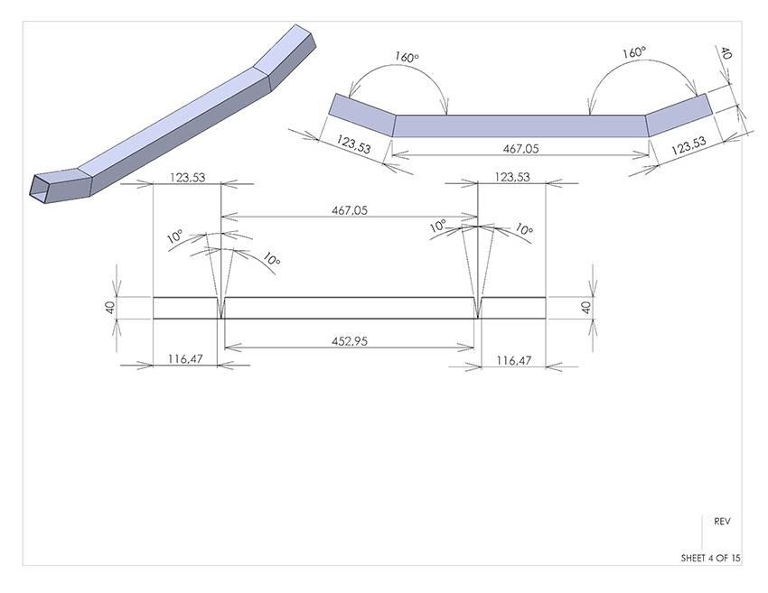 1t_Сборочный чертеж рама трайк 2