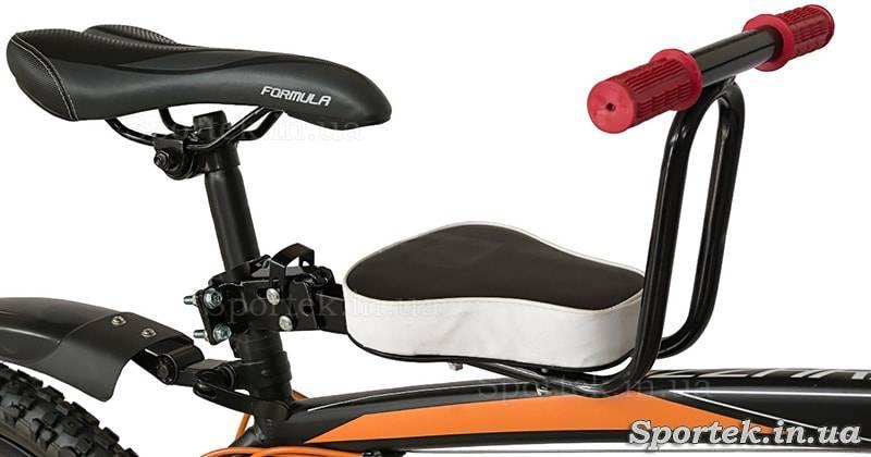 Как крепится детское кресло на велосипед