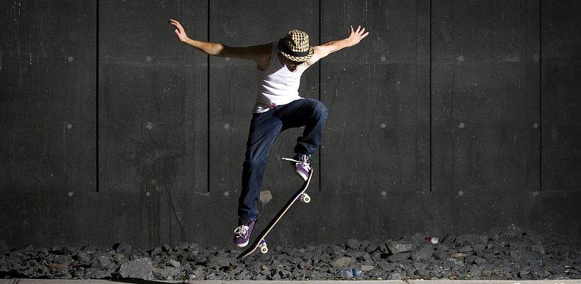 Олли скейт