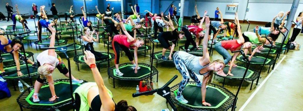 Джампинг фитнес на батутах