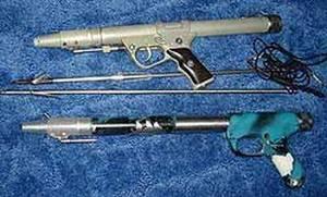 Подводный пистолет для подводной охоты
