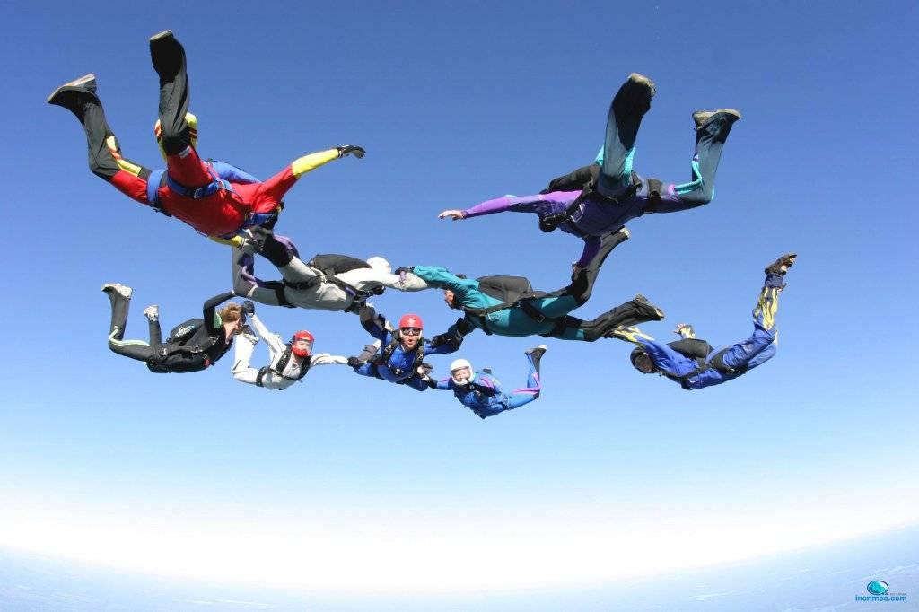 Опасно ли прыгать с парашютом