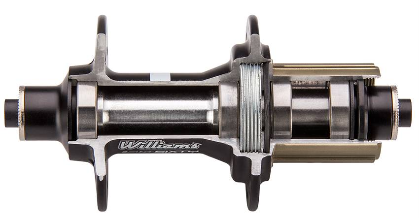 rear hub cross section web