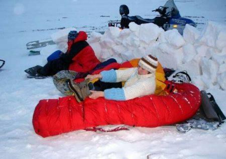 Спальный мешок для похода