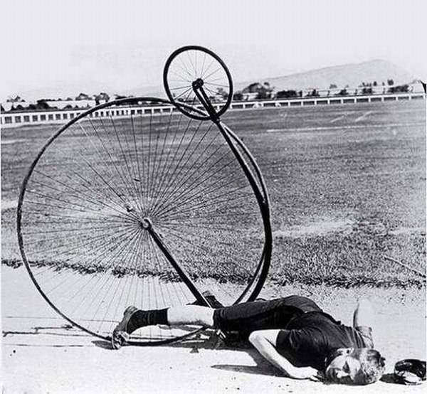 Первый в мире велосипед