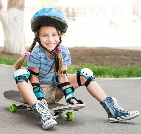 Детский скейтборд для девочек