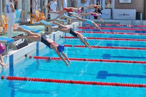 Мастер спорта по плаванию