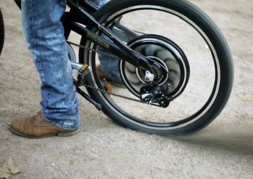 Установка электродвигателя на велосипед