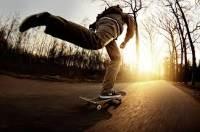 Обучение катанию на скейте