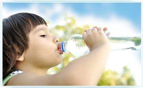 Употребление воды в день