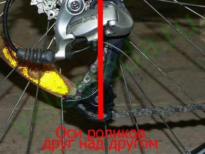 Длина цепи велосипеда