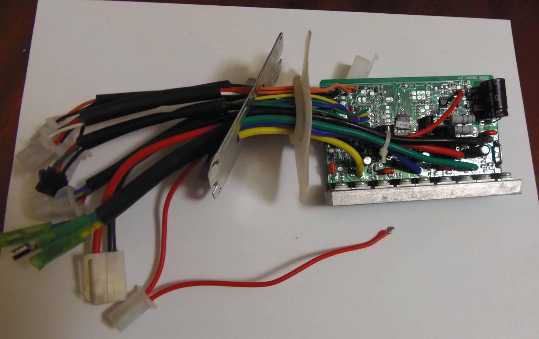 Самодельный контроллер для электровелосипеда