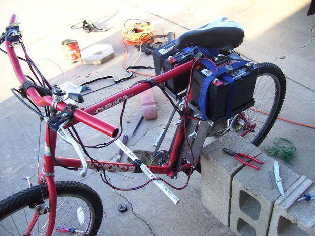 Электровелосипед своими руками за 30 минут. Самодельный электровелосипед